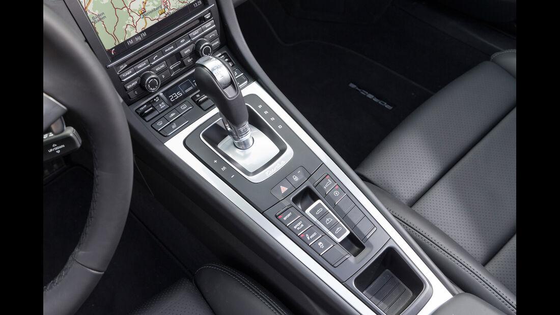 Porsche 911 Turbo Cabriolet, Schalthebel