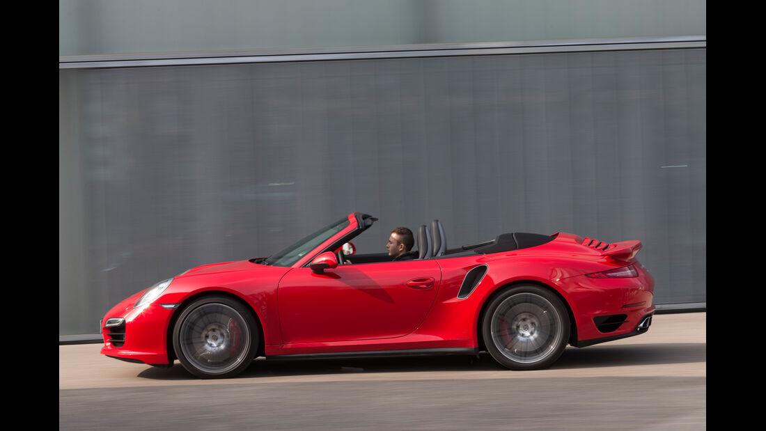 Porsche 911 Turbo Cabriolet, Seitenansicht