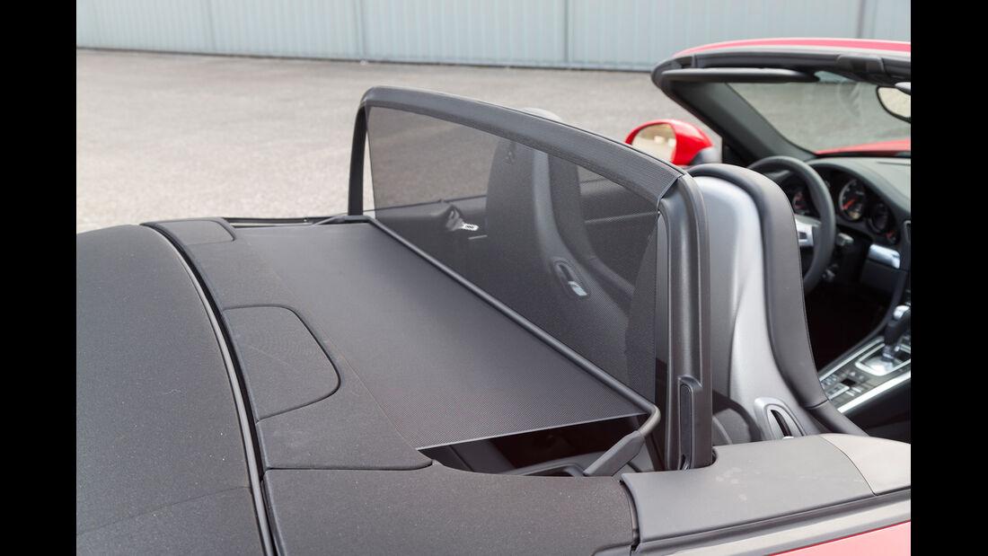 Porsche 911 Turbo Cabriolet, Windschott
