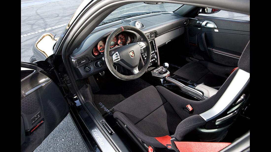 Porsche 911 Turbo Cargraphic Cockpit