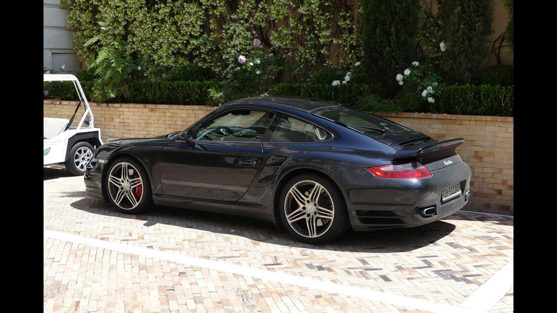 Porsche 911 Turbo - Carspotting - GP Monaco 2018