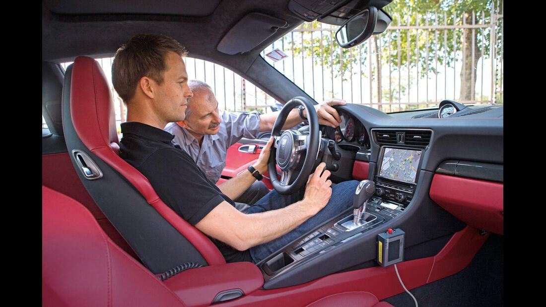 Porsche 911 Turbo, Cockpit, Lenkrad