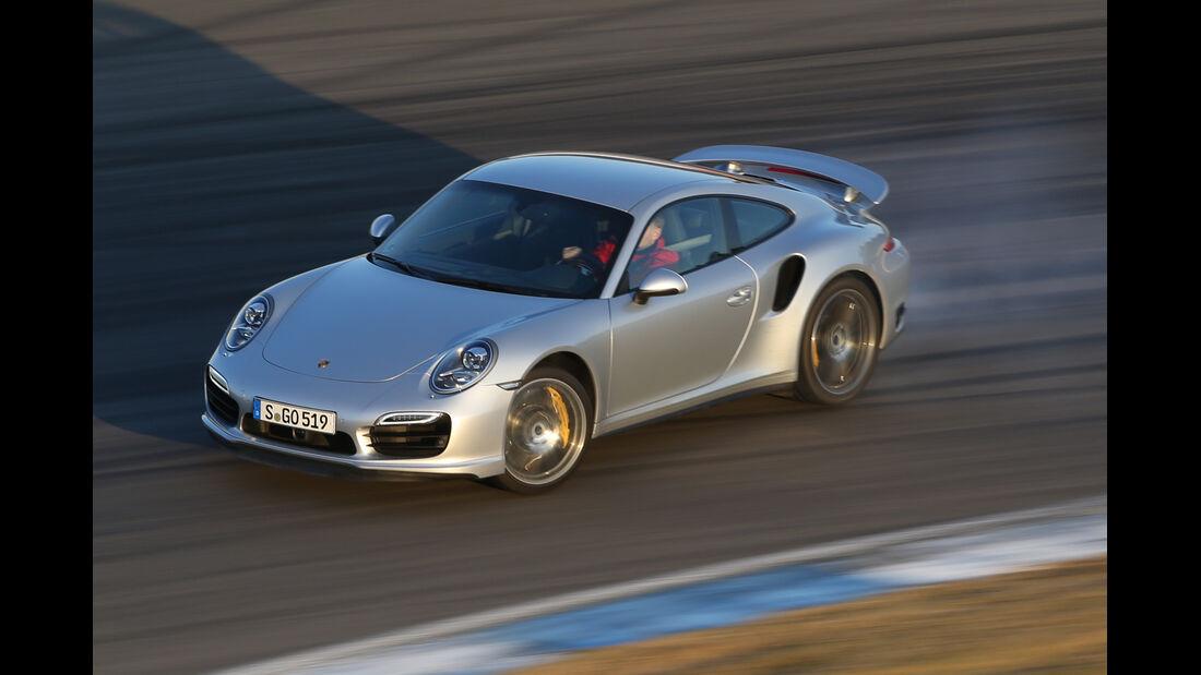 Porsche 911 Turbo, Driften