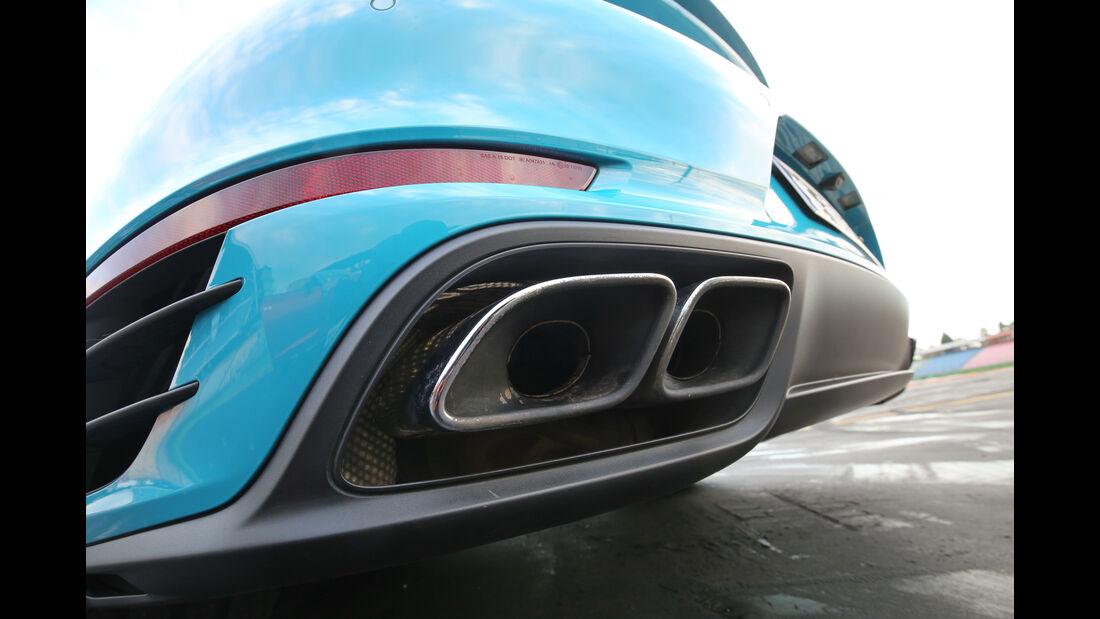 Porsche 911 Turbo, Endrohr