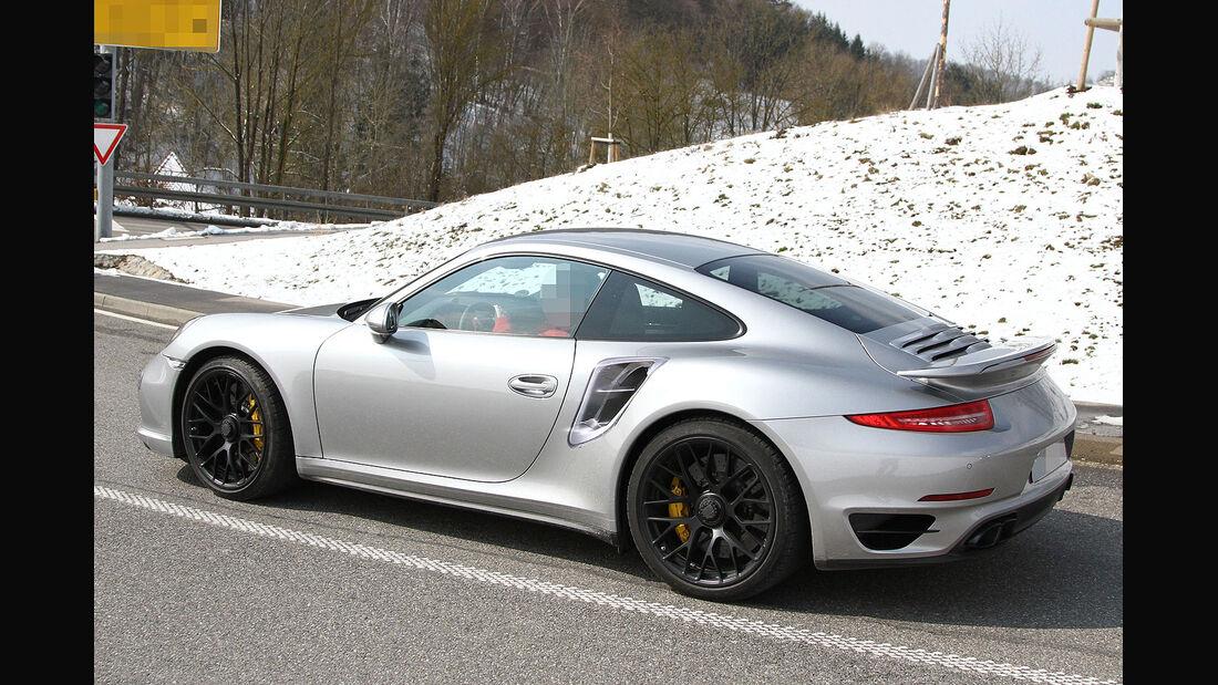 Porsche 911 Turbo Erlkönig