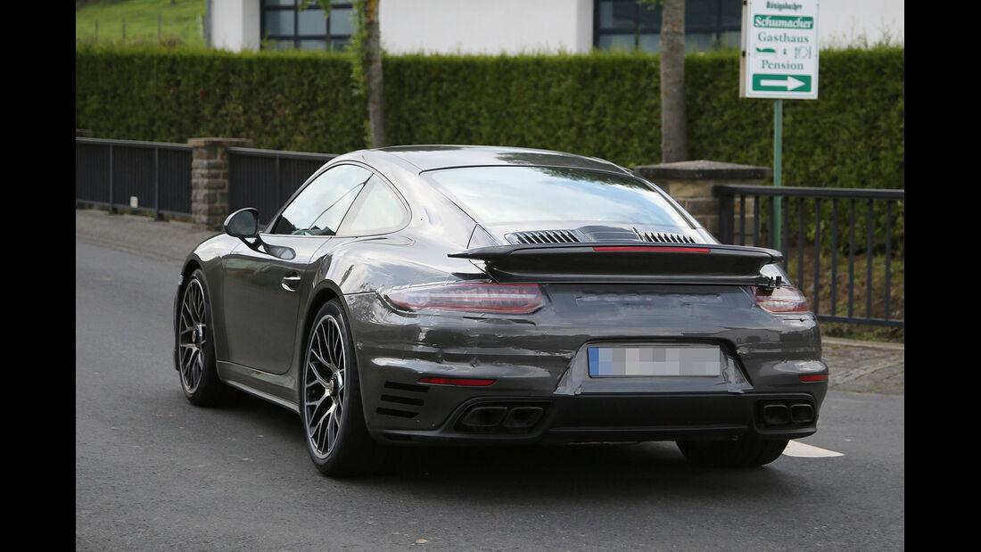 Porsche 911 Turbo Facelift Erlkönig
