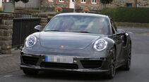 Porsche 911 Turbo Facelift Erlkönig