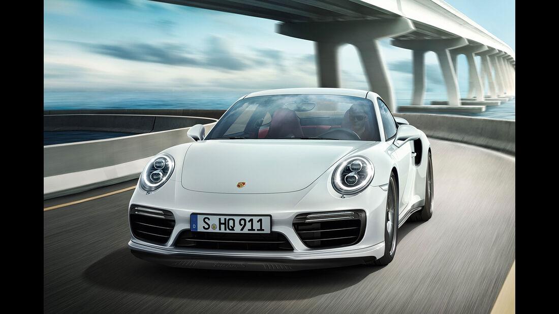 Porsche 911 Turbo Facelift Sperrfrist 1.12.