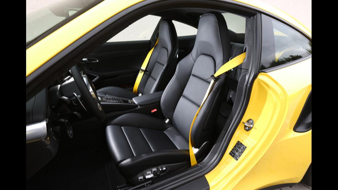 Porsche 911 Turbo, Fahrersicht
