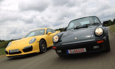 Porsche 911 Turbo, Frontansicht
