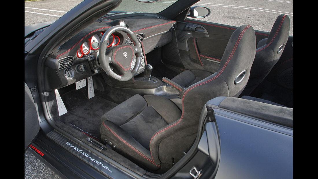 Porsche 911 Turbo Gemballa Cockpit