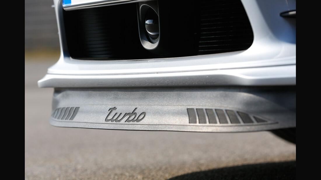 Porsche 911 Turbo, Heckabschluss