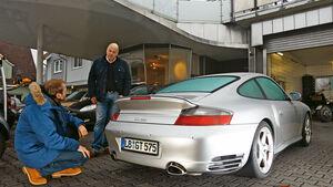 Porsche 911 Turbo, Heckansicht
