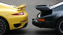 Porsche 911 Turbo, Heckspoiler