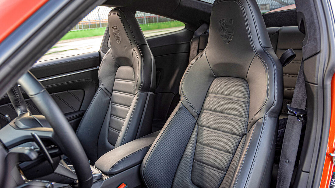 Porsche 911 Turbo, Interieur