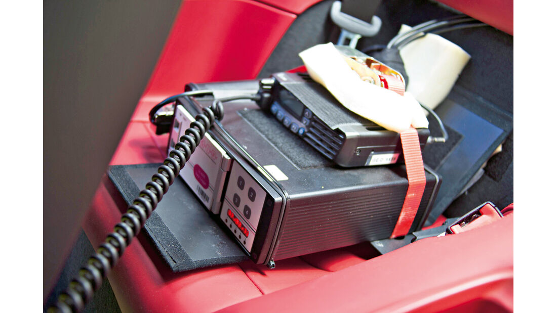 Porsche 911 Turbo, Messelektronik