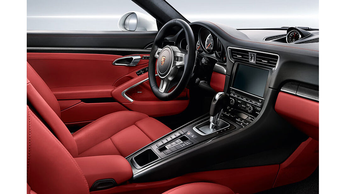 Porsche 911 Turbo S Cabrio, Cockpit