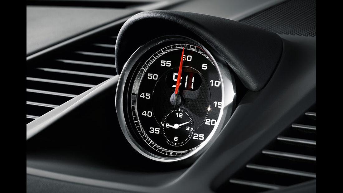 Porsche 911 Turbo S Cabrio, Instrument
