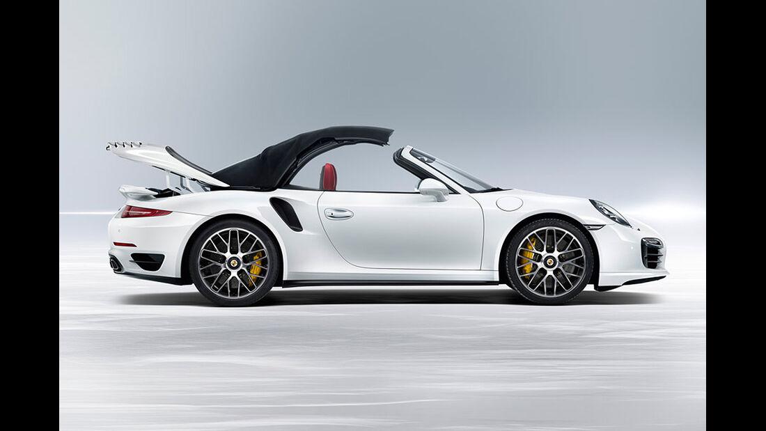 Porsche 911 Turbo S Cabrio, Verdeck