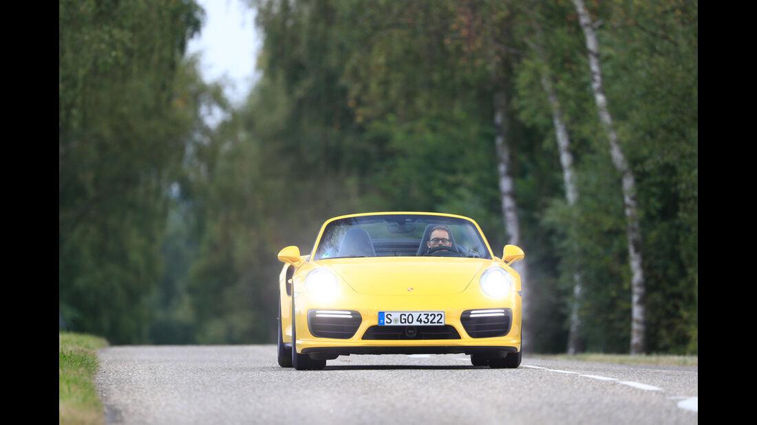 Porsche 911 Turbo S Cabriolet, Frontansicht