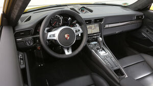 Porsche 911 Turbo S, Cockpit