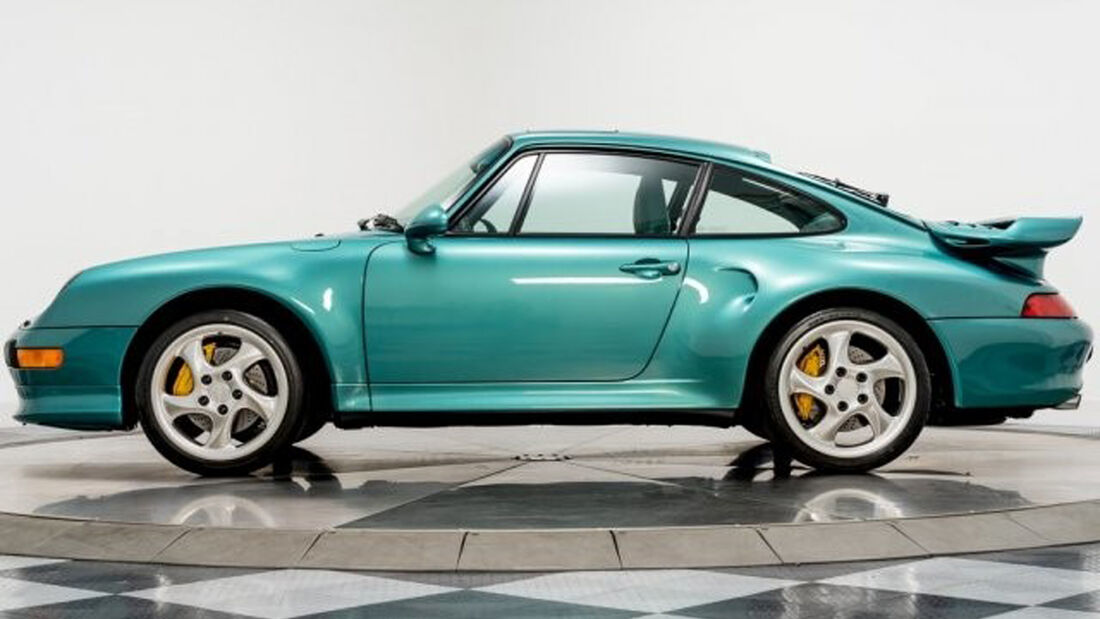 Porsche 911 Turbo S Coupe 1997 Wimbledon Green