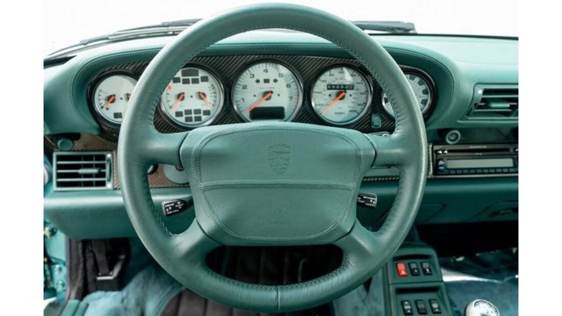 Porsche 911 Turbo S Coupe 1997 Wimbledon Green