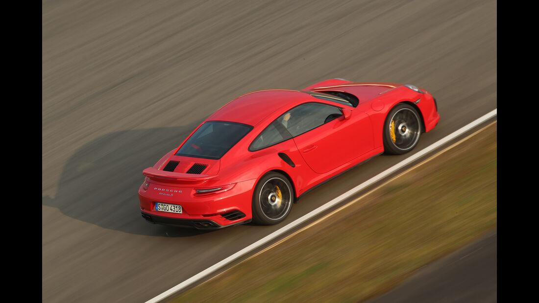 Porsche 911 Turbo S, Draufsicht