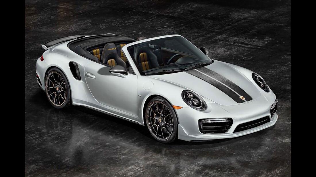 Porsche 911 Turbo S Exclusive Series Cabrio