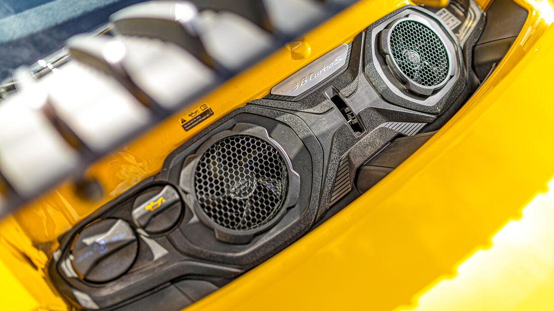 Porsche 911 Turbo S, Exterieur