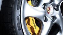 Porsche 911 Turbo S, Felge, Bremse