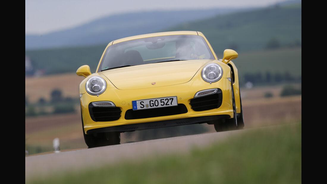 Porsche 911 Turbo S, Frontansicht
