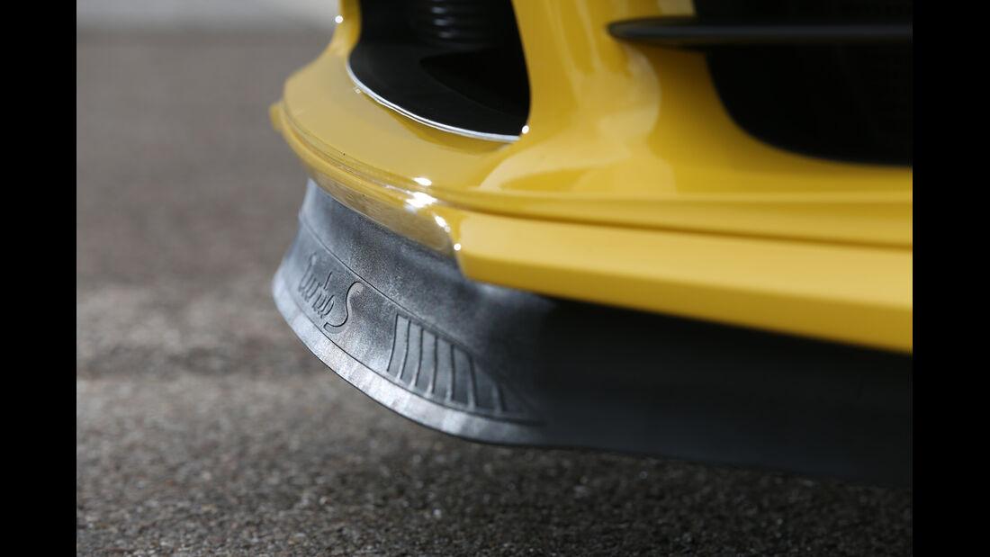 Porsche 911 Turbo S, Frontschürze