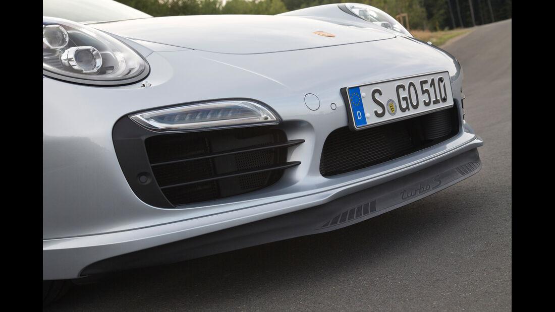 Porsche 911 Turbo S, Frontspoiler