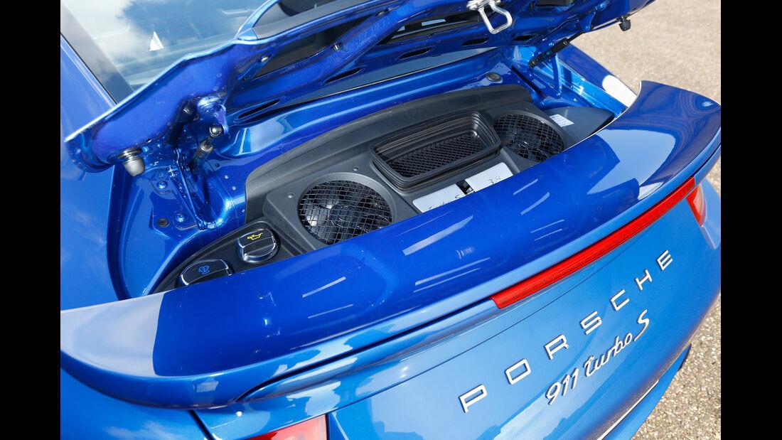 Porsche 911 Turbo S, Gebläse