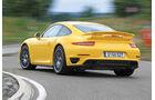 Porsche 911 Turbo S, Heckansicht