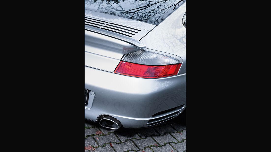 Porsche 911 Turbo S, Heckleuchte
