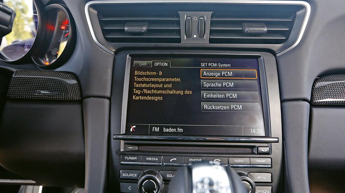 Porsche 911 Turbo S, Infotainment