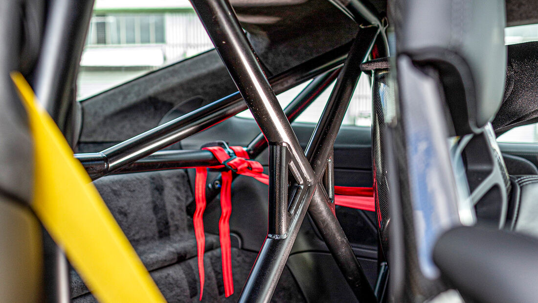 Porsche 911 Turbo S, Interieur