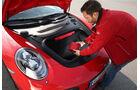 Porsche 911 Turbo S, Kofferraum