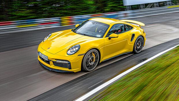 Porsche 911 Turbo S, Nordschleife