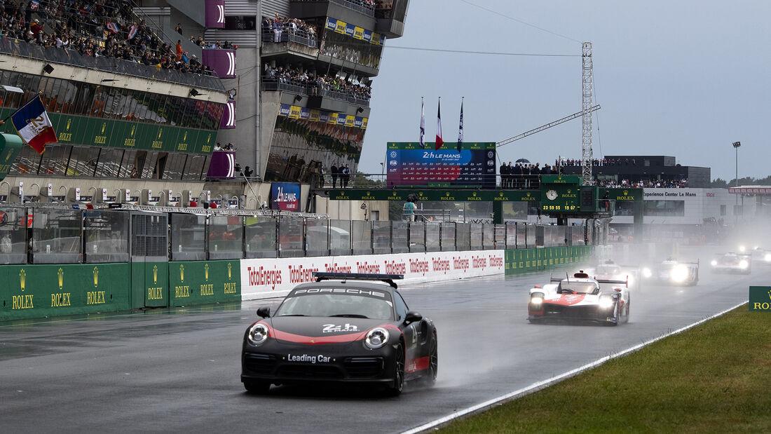 Porsche 911 Turbo S - Pace Car - 24h-Rennen Le Mans 2021