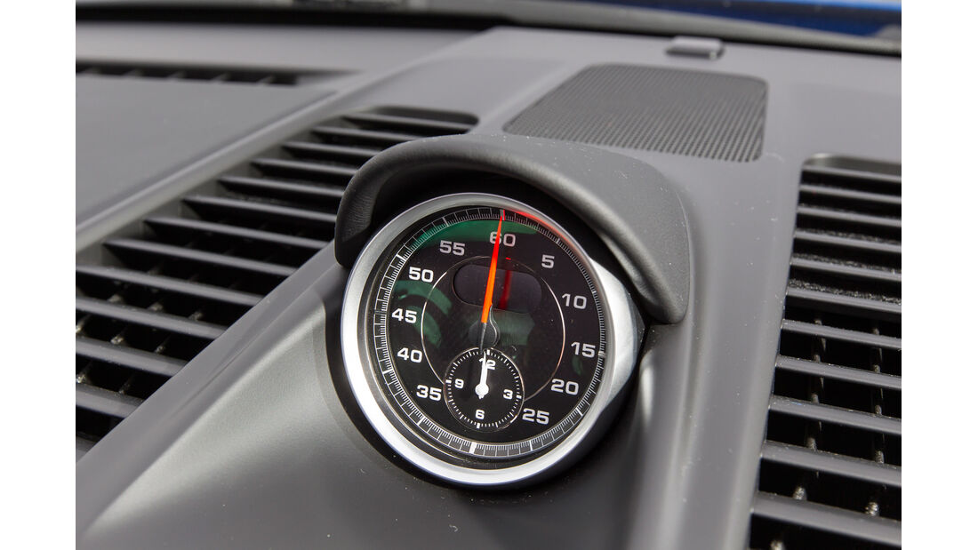 Porsche 911 Turbo S, Schaltknauf