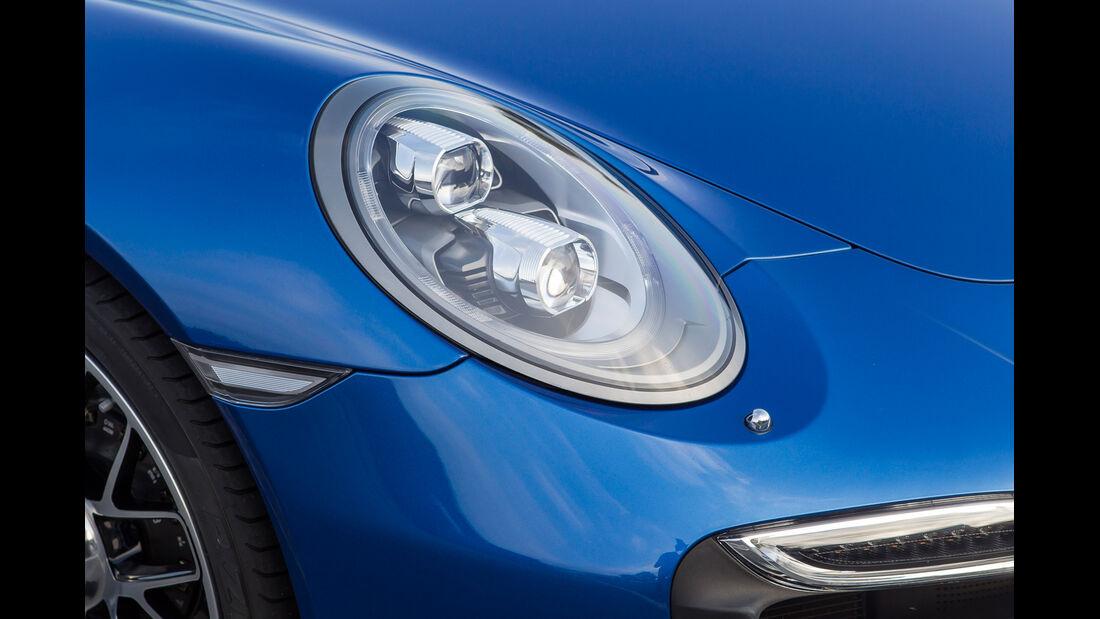 Porsche 911 Turbo S, Scheinwerfer