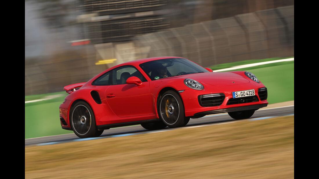 Porsche 911 Turbo S, Seitenansicht