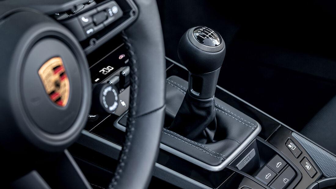 Porsche 911 Turbo S Siebengang-Schaltung