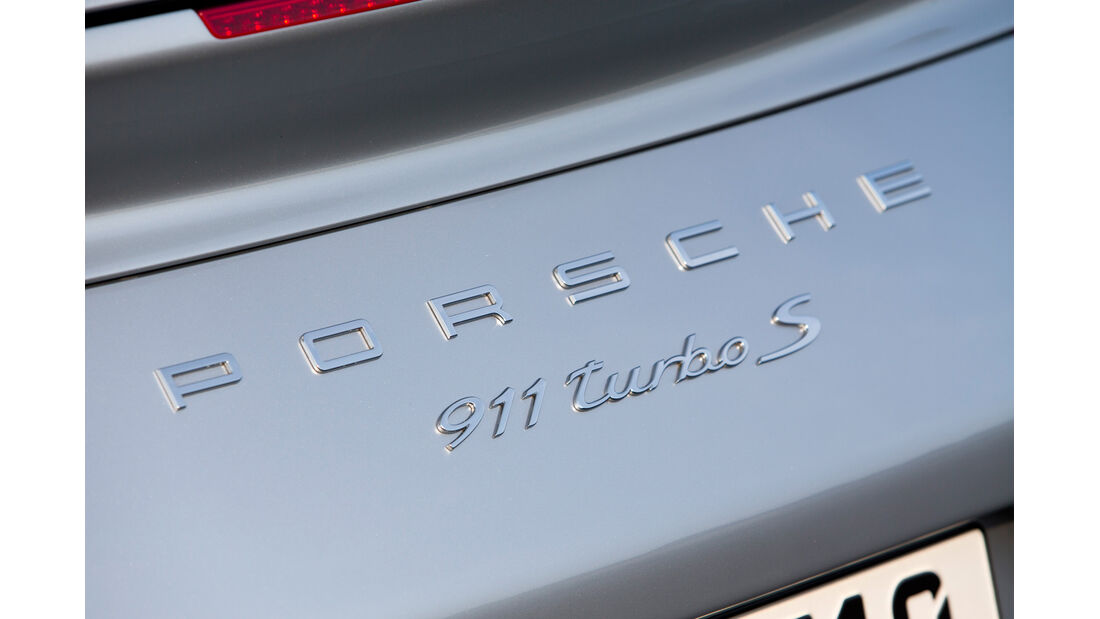 Porsche 911 Turbo S, Typenbezeichnung