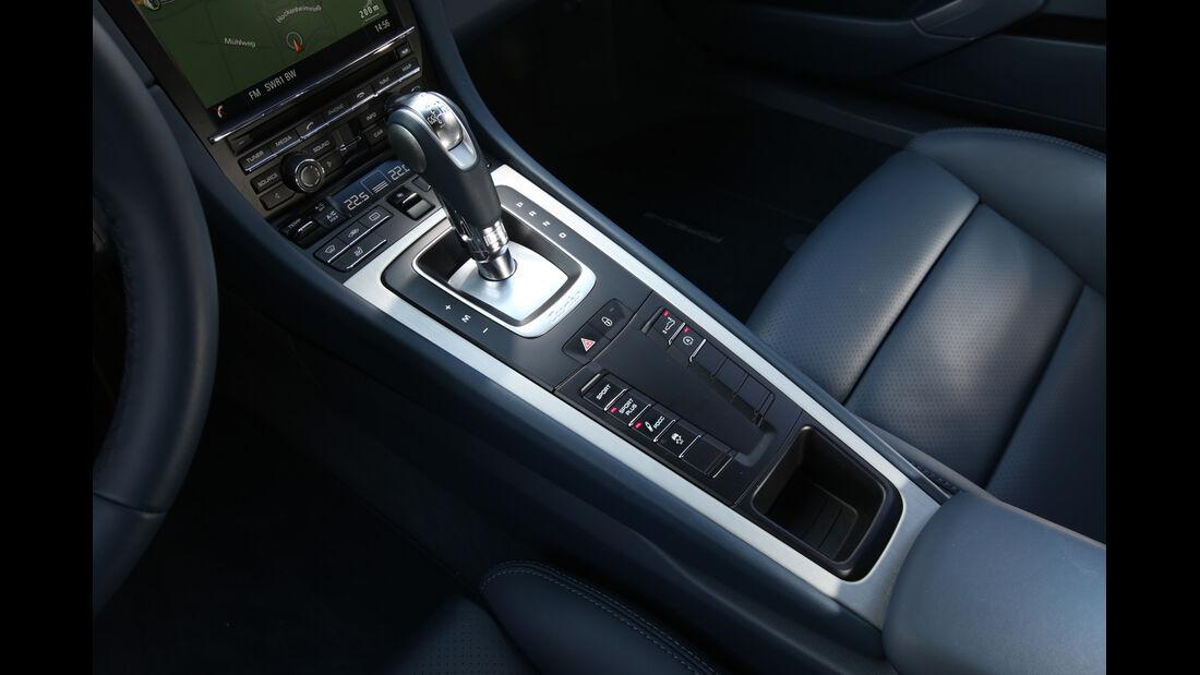 Porsche 911 Turbo, Schalter