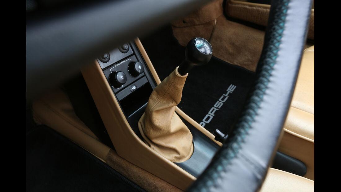 Porsche 911 Turbo, Schalthebel