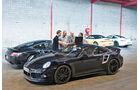 Porsche 911 Turbo, Seitenansicht